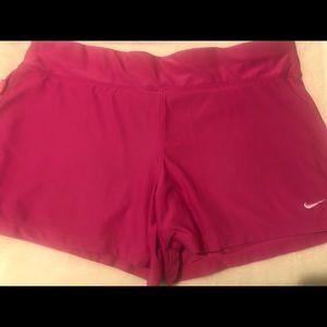 Nike Dry Fit Fushia Shorts